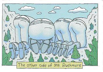 othersideofmountrushmore by admin in Funny Pictures