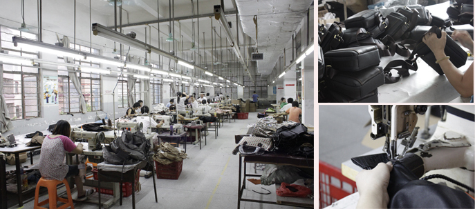 Custom handbag factory from china