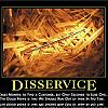 disservice by admin in Demotivational posters